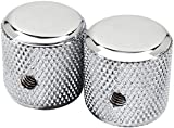 Am Vint 60s Tele Knobs, Chrome