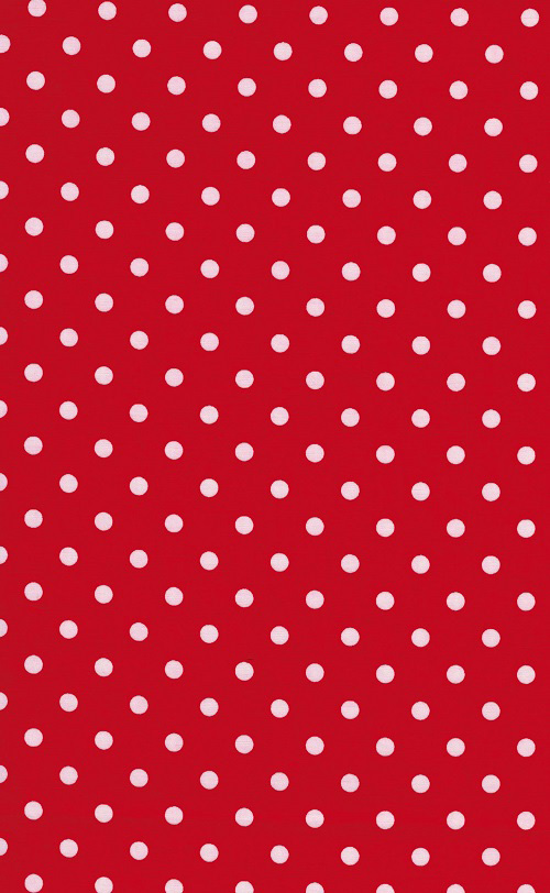 Sevenberry Cotton - Classic Dots - Red
