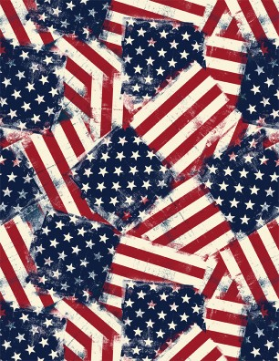 :Wilmington American Valor Flags  84429 - 341