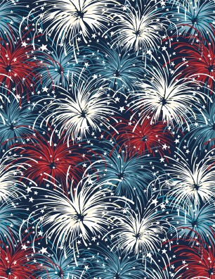 :Wilmington American Valor Blue Fireworks  84432 431