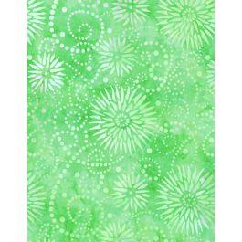 MM19 Essent Backing 108 Flower Burst Green