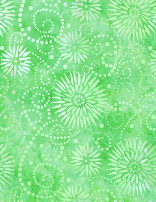 108 Flower Burst Lime
