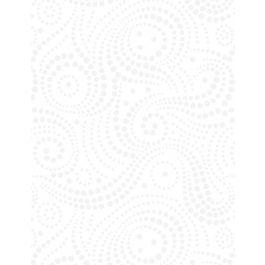 108 White on White Swirl Dots
