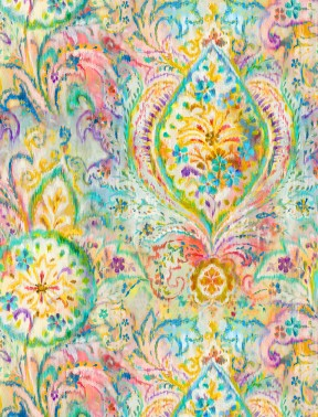 Bohemian Dreams Golden Boho Paisley
