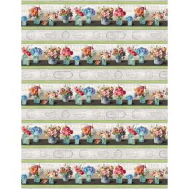 Flower Market Repeating Stripe Multi