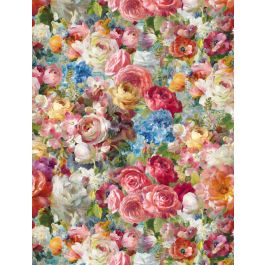 Wilmington Flower Market Floral - Blue/Pink/Yellow/Green (Min order 1m)