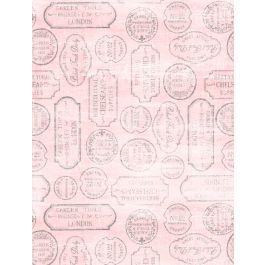 Wilmington Flower Market Garden Supply Labels - Pink (Min order 1m)