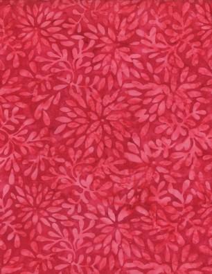Packed Petals Dark Pink Batik