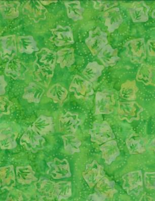 Twirling Leaves Green