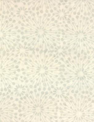 Tan/Green Dandelion Burst Batik 22199-147