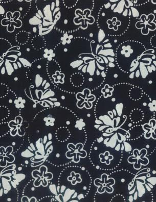 22205 991 Black Butterflies & Rings Wilmington Batiks