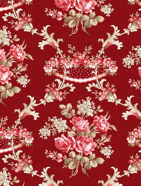 Rhapsody in Reds by Kaye England 98651 332  DK Red
