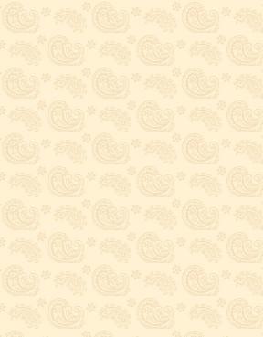 Caramel Macchiato - Paisleys