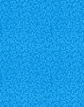 Aqua Swags on Aqua