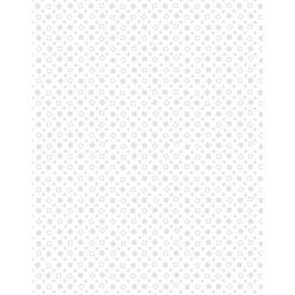 Essentials Squares White on White