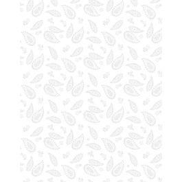 Essentials Paisley White on White