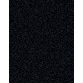 leafy scroll black on black