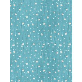 All Our Stars on Teal with White Stars