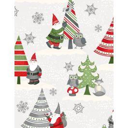 Winter Gnomes 67572 173 Scenic Gnomes White/Gray