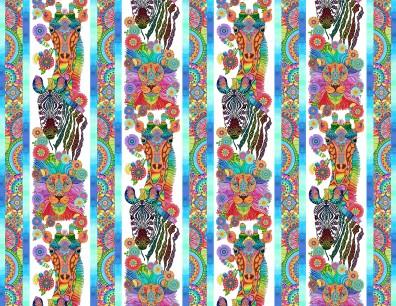 Safari, SO Goodie Multi Safari Repeating Stripe
