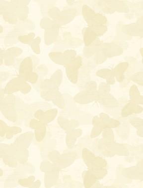Wilmington Prints - Tonal Butterflies - Cream - 68453 - 112