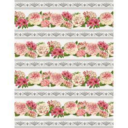 LE BOUQUET FLOWER BORDER 3007-68465-193