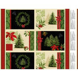 Panel 475: Placemat Multi - Festive Forest