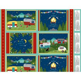 Wilmington Gone Glamping Multi Placemat