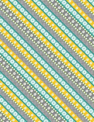Gone Glamping! Grey Diagonal Stripe by Anne Rowan 68489 975