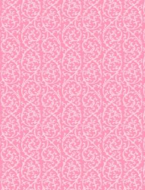 Floral Serenade - Trellis, Pink - by Wilmington Prints