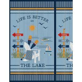 Lake Life Panel 24 x 43 3007-68499-458