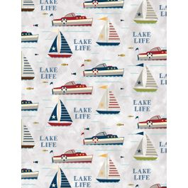 Lake Life Sailboats White