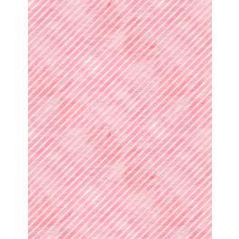 Botanical Oasis Diagonal Stripe Pink