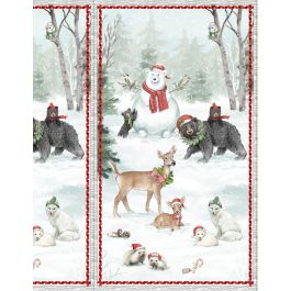 Woodland Friends Panel 96442-172