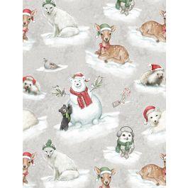 Woodland Friends Grey Tossed Animals 96446-913