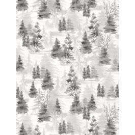Woodland Friends Grey Shadow Trees
