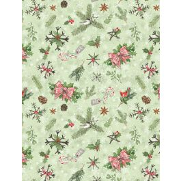 Woodland Friends Green Pinecones & Branches 96448-772