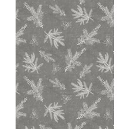 Woodland Friends Branch Toile Grey