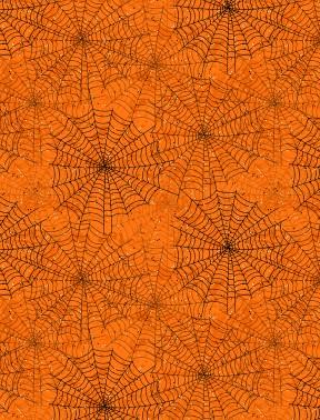 Spider Webs Orange