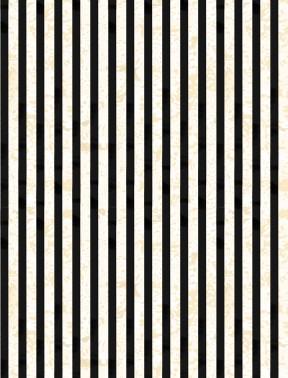 Gone Batty - Black White Stripe