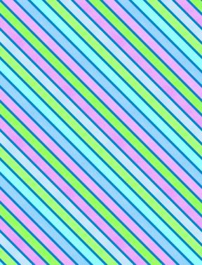 Diagonal Stripe<br>Blue/Purple/Lime - 83107-446