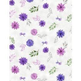 Amethyst Magic 27581 169 Small Floral White