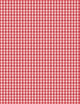 Berry Sweet Red Gingham