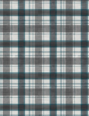 Grey Plaid Flannel