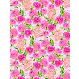 Bloom True Packed Pink Floral