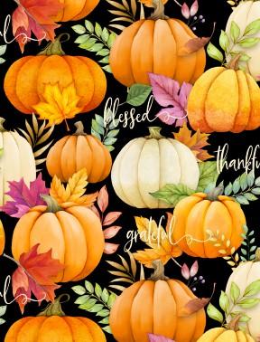 Wilmington - Happy Gatherings-Pumpkins/Black - 32053-987