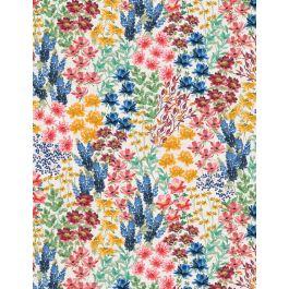 Garden Charm 83305 143 Flower Field Cream