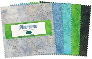 Aurora Batik Charm Pack