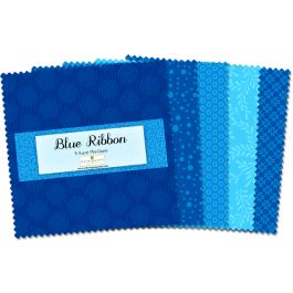 5 Pre-Cut Blue Ribbon Essentials  Wilmington