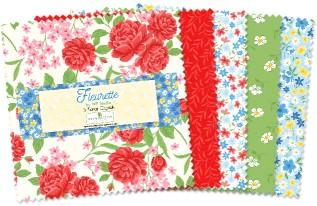 Fleurette-5 Squares